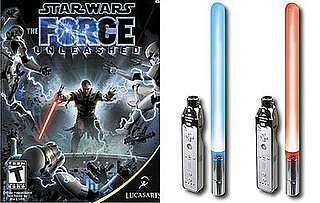 Star Wars: The Force Unleashed and Dual Glow Light Sabers