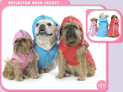 Reflector Rain Jacket ($29)