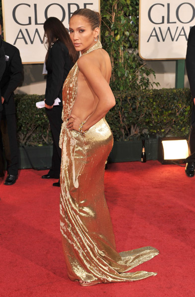 Jennifer Lopez Golden Globes