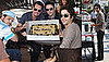 Photos of Adrian Grenier and Entourage Costars Celebrating His Birthday on Set