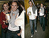 Photos of Smiley Jessica Alba Out With Cash Warren and Jaime King