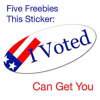 Five Freebies You Can Get Just For Voting!