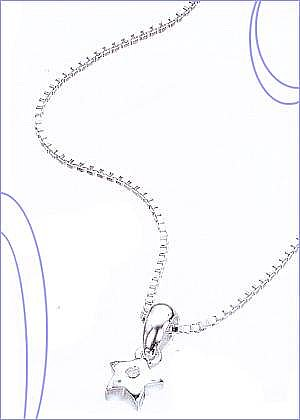 Twinkle Star Silver Necklace