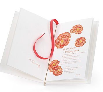 Simple Booklet Invite