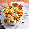 Fast & Easy Dinner: Chicken with Cornmeal Dumplings