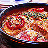 Fast &amp; Easy Dinner: Goat Cheese and Tomato Strata