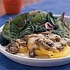 Fast & Easy Dinner: Polenta Gratin with Mushrooms and Fontina