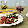 Fast &amp; Easy Dinner: Ginger Pork Chops With Spinach Salad