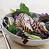 Fast & Easy Dinner: Balsamic Chicken Over Greens