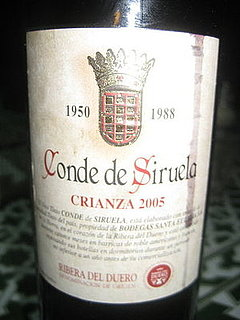 Happy Hour: Conde de Siruela Crianza