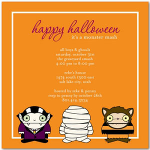 Kiddie Soireé: Tiny Prints For Halloween!