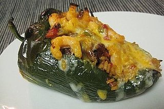 The Amazing Rice: Rice, Chorizo, Shrimp Stuffed Poblanos