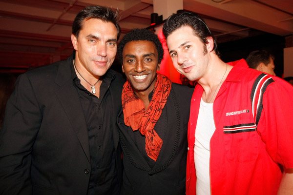 Todd English, Marcus Samuelsson, and Johnny Iuzzini
