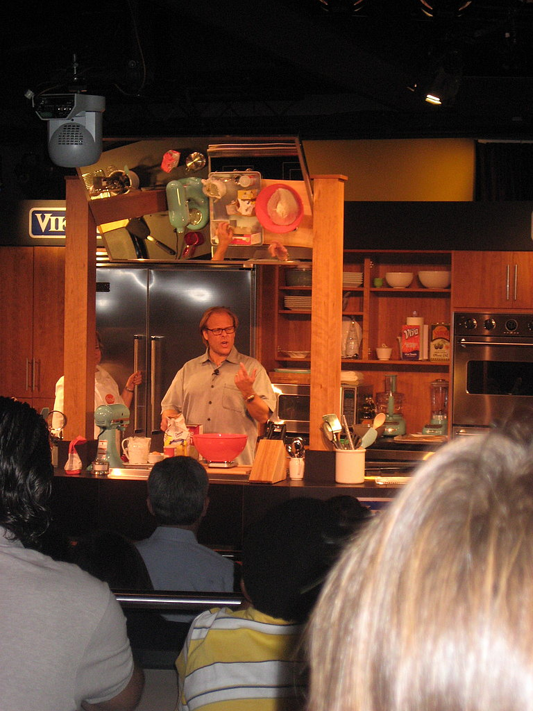 Alton Brown's Kidz Kitchen Demonstration