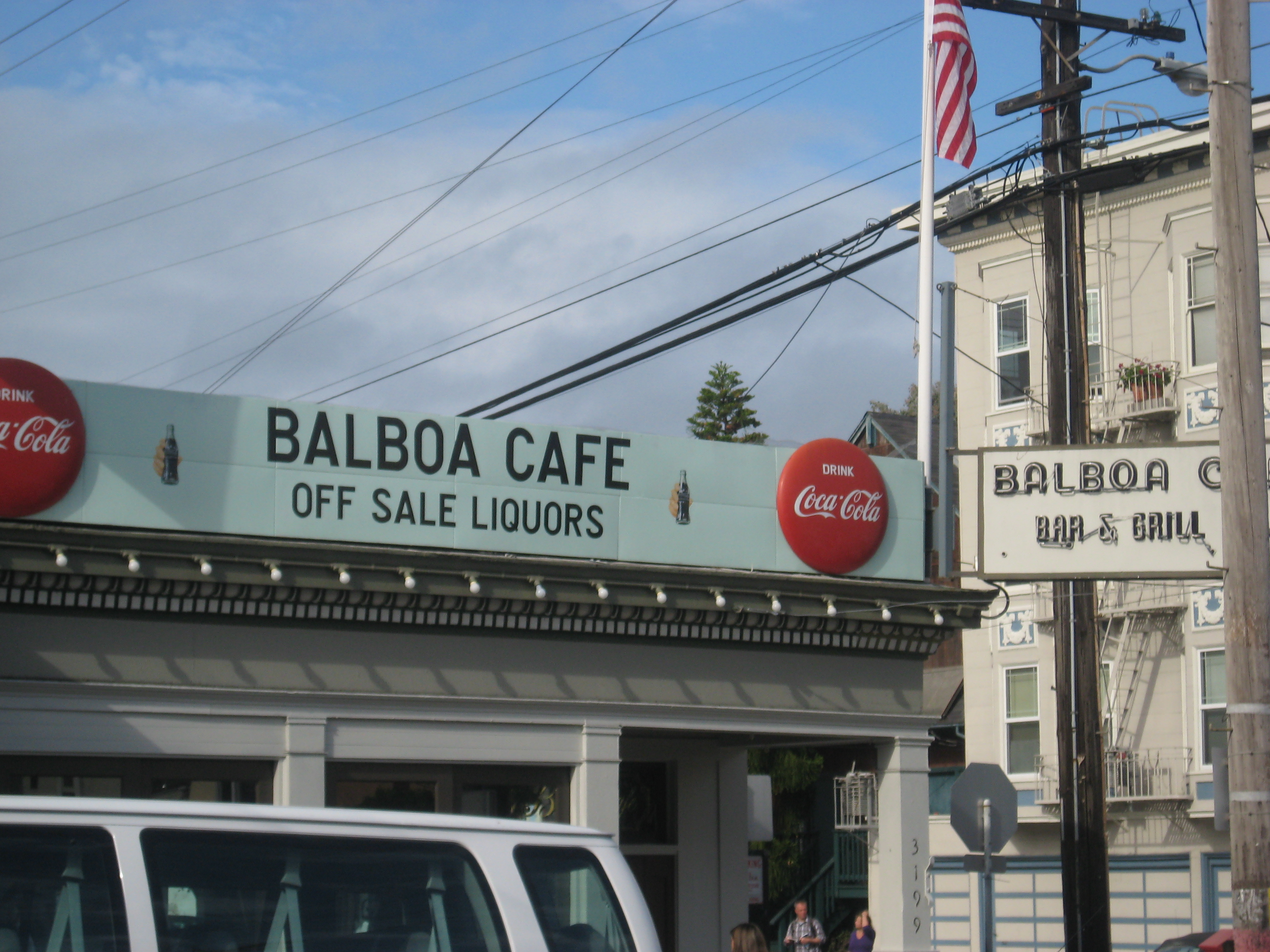 San Francisco's Balboa Cafe.