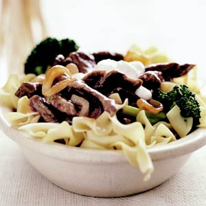 Fast & Easy Dinner: Beef Stroganoff With Pasta