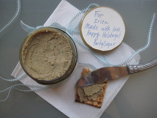 12 Days of Edible Gifts: Chicken Liver Paté