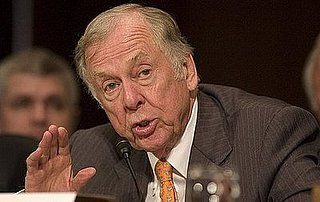 T. Boone Pickens Is Going to Save the Economy With Hot Air