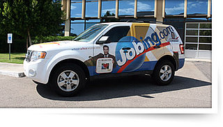 Would You Advertise on Your Car For Money and Free Gas?