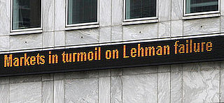 Lehman Brothers Shocked You Most in 2008