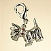 Scottie Dog Charm