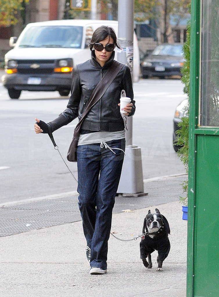 Famke and Licorice Brave the Cold City Streets