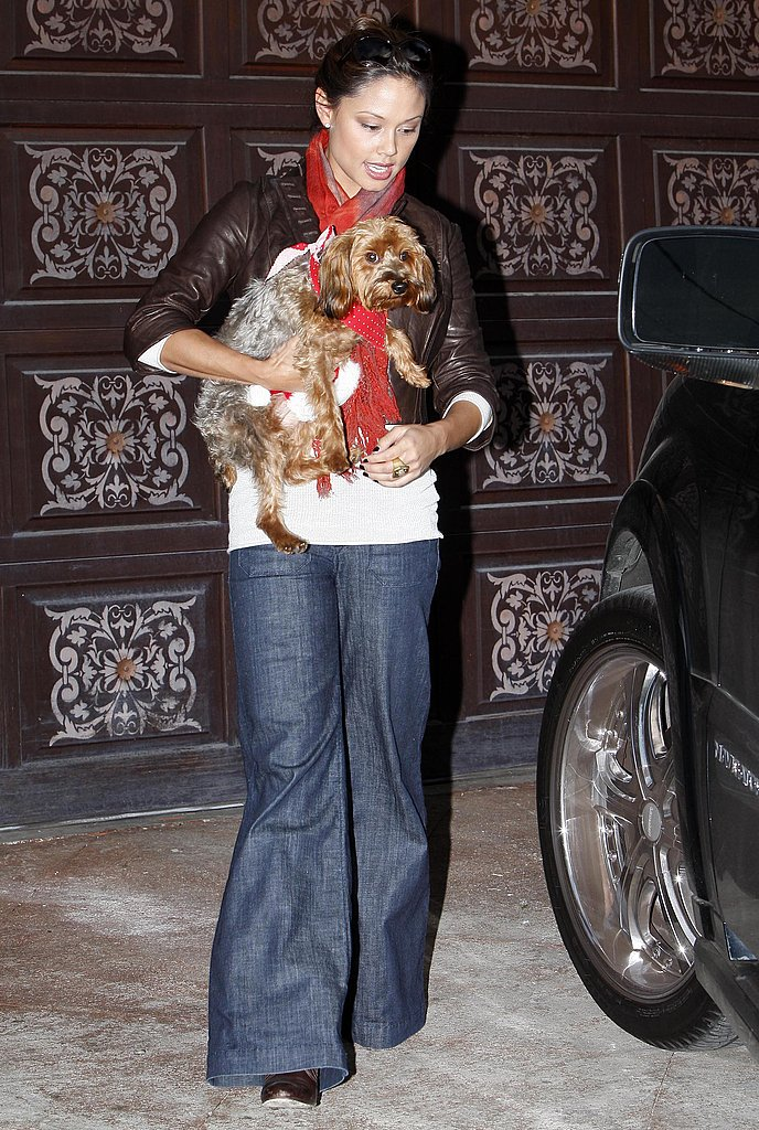 Vanessa Minnillo and Wookie