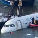 Photos of US Airways Plane Crash Into Hudson River