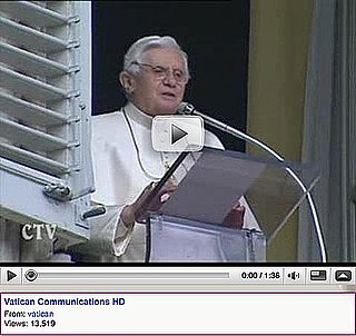 Skipped Church? Check Out the Pope's New YouTube Channel