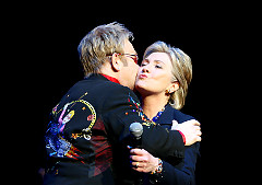 Elton John Radio City Fundraiser Earns Hillary Clinton $2.5M