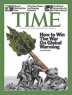 Time Cover Showing Iwo Jima