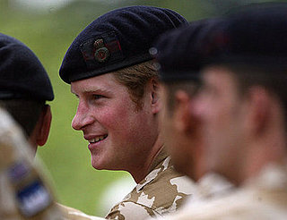 Prince Harry Receives Award for Service