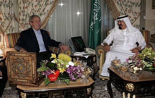 Bush Fails to Win Saudi Help on Gas Prices