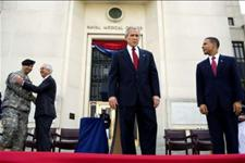 Bush Welcomes Walter Reed Hospital Replacement