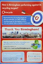 Trash Talk? British Recycling Leaflets Show Wrong Birmingham