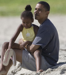 Aloha! Barack Obama's Hawaiian Vacation Family Photo Album
