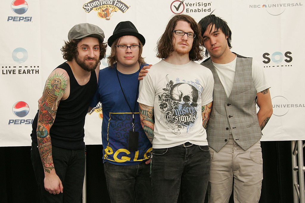 Pete Wentz and Fall Out Boy