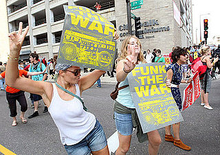 Thousands Protest the War at the Republican Convention