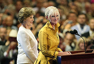 Laura Bush and Cindy McCain Appeal For Gulf State Aid