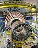 Scientists Beaming After Test of Big Atom Smasher