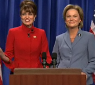 Tina Fey as Sarah Palin on Saturday Night Live