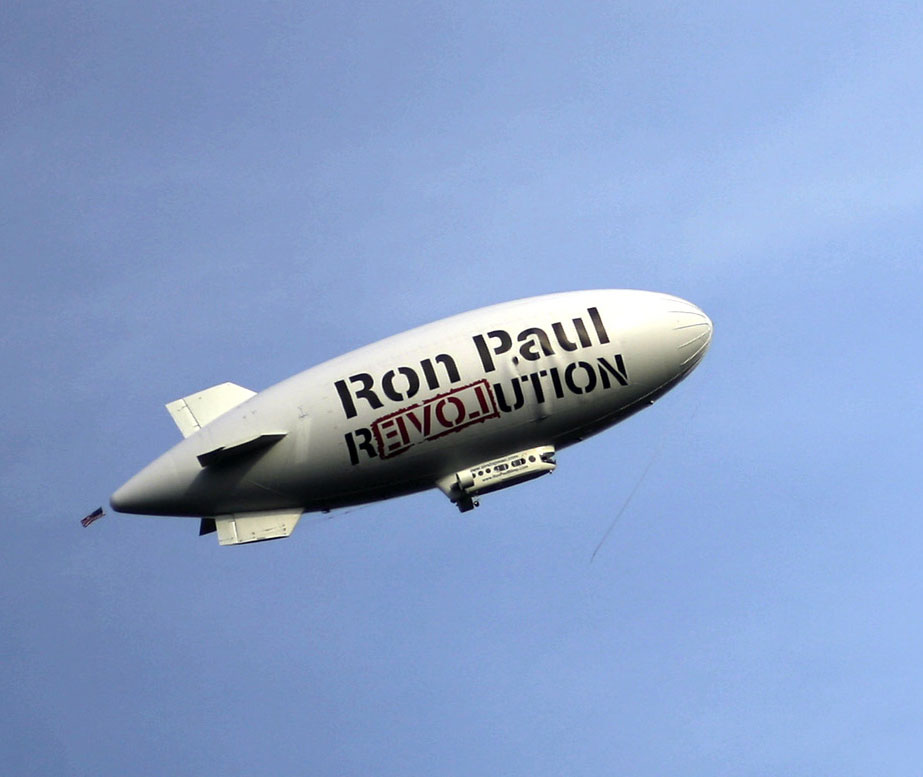 Ron Paul's Blimp