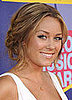 Lauren Conrad at MTV VMAs: Hair and Makeup