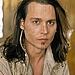 Johnny Depp Flips his long Hair. Hot Or Not?