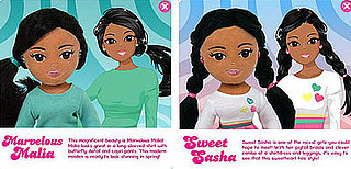 Kid Friendly or Are You Kidding: Teen Malia and Sasha Dolls?