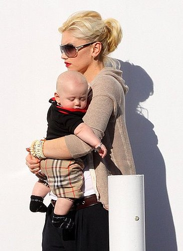 Nobody Wears Burberry Better Than Baby Zuma!