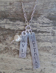 Dog Tag Necklace ($58)
