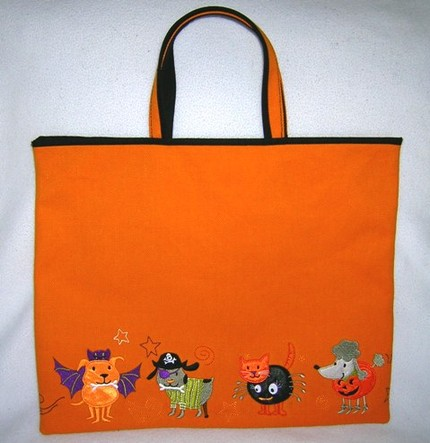 Pet Parade Trick or Treat Bag ($20)