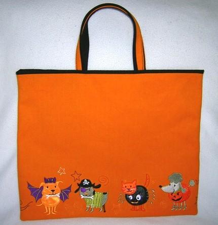 Pet Parade Trick or Treat Bag ($20)