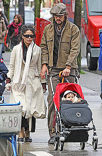 Lisa Bonet and Baby Girl Lola